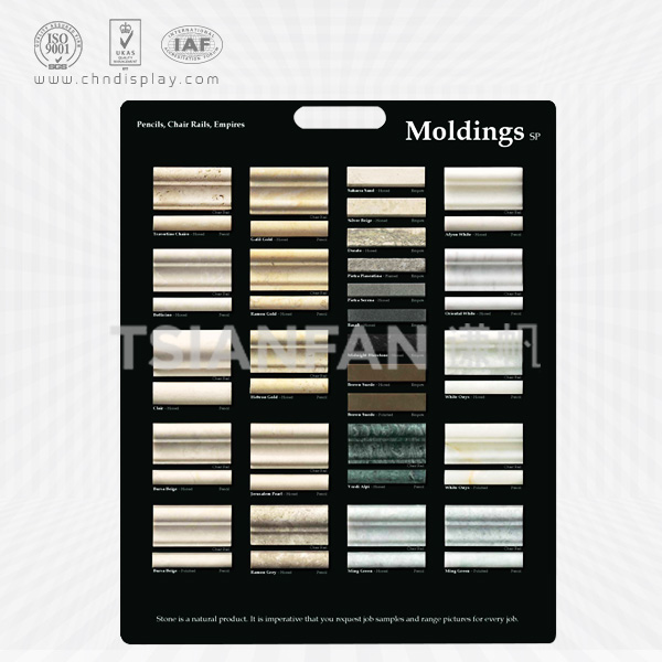 Sample Display Board For Ceramic Tile, Quartz Stone, Marble, Granite And Other Stone Products-PS2026
