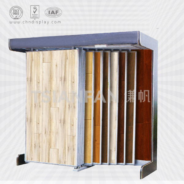 CUSTOM DESIGN FREE STAND HARDWOOD FLOORING SHOWROOM DISPLAY STAND-WT2019