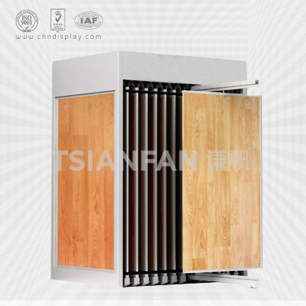 LUXURY HARDWOOD FLOORING,COMMERCIAL WOODEN FLOOR TILES RACK DISPLAY-WT2013