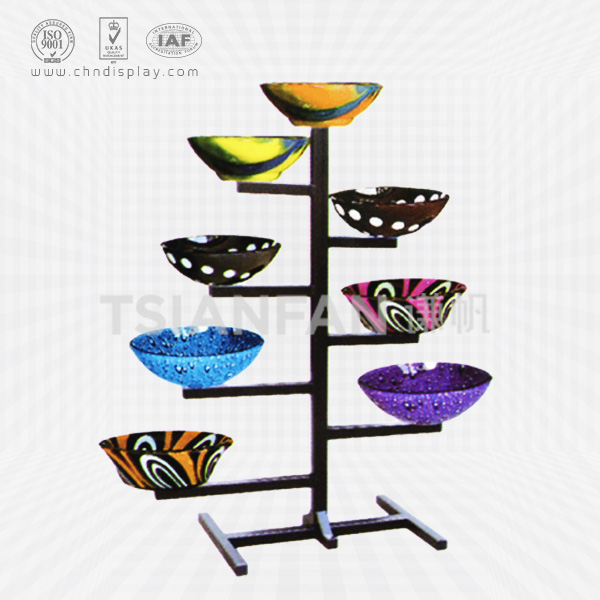 CUSTOM METAL WASH BASIN DISPLAY STAND FOR SALE-VB2006