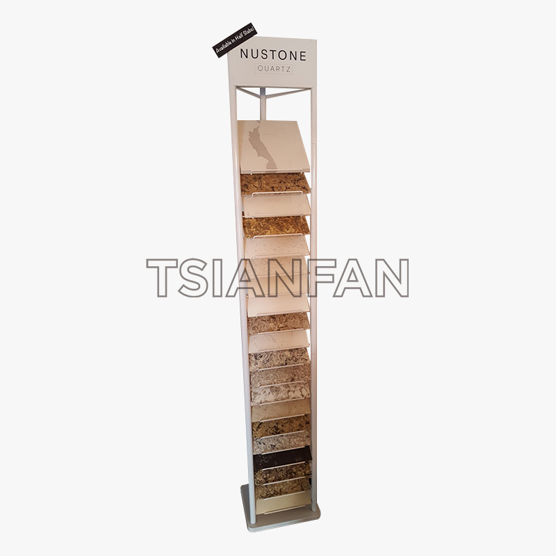 QUARTZ STONE TRADE SHOW SAMPLE DISPLAY STAND SRL004