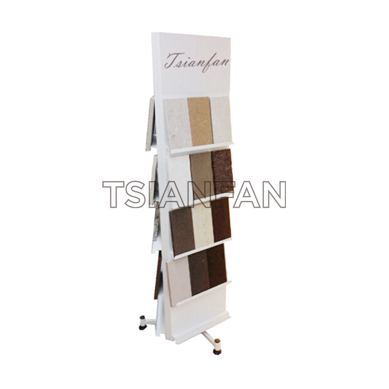 QUARTZ STONE TRADE SHOW SAMPLE DISPLAY STAND SRL141
