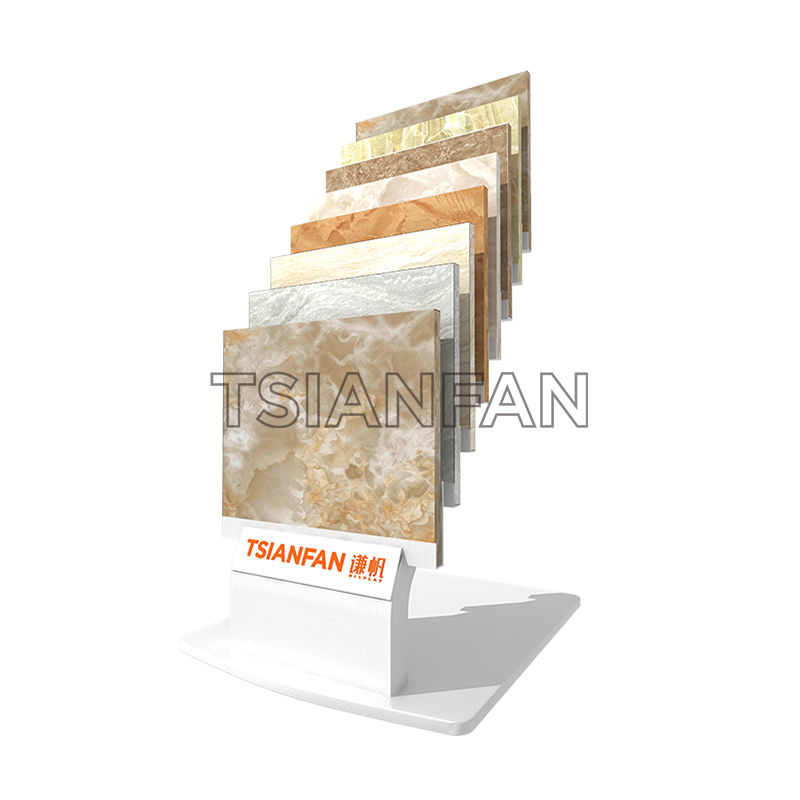 QUARTZ STONE TRADE SHOW SAMPLE DISPLAY STAND SRL144