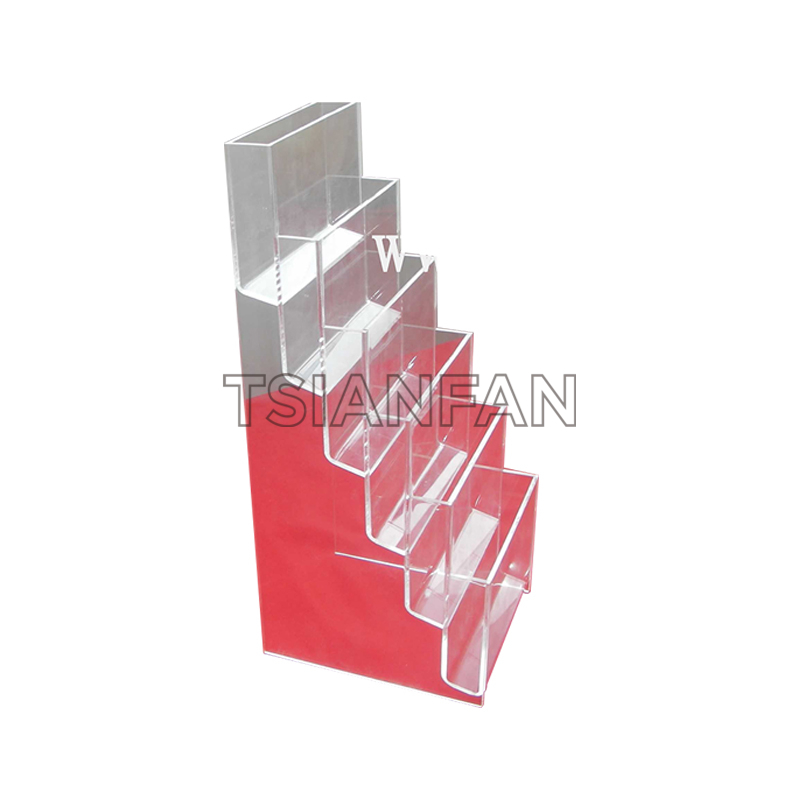 ARTIFICIAL QUARTZ STONE SAMPLES A-SHAPED DISPLAY RACK-SRT049