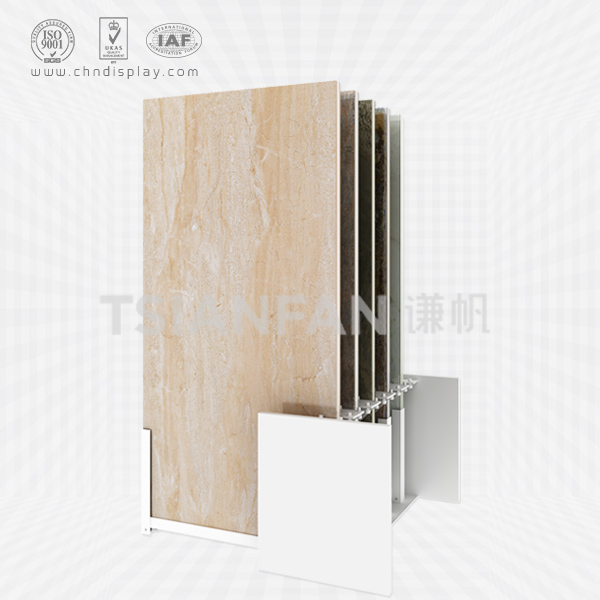 PULL-OUT CERAMIC TILE DISPLAY RACK-CT2167