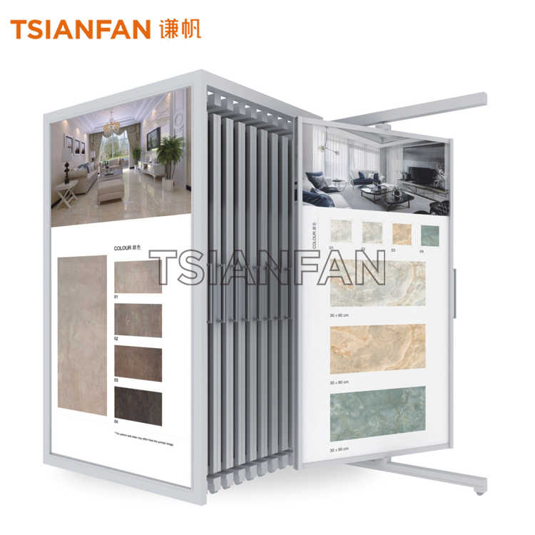 CERAMIC TILE DISPLAY CABINETS,A LARGE EXHIBITION HALL-CT918