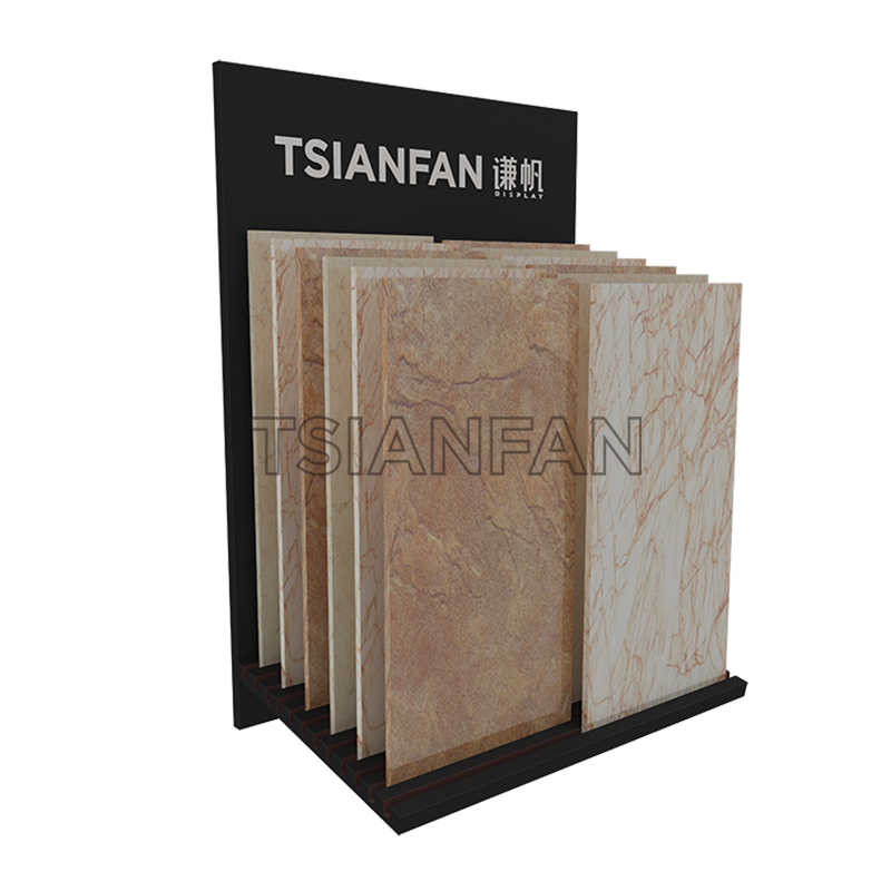 SIMPLE STONE TILE DISPLAY RACKS-CE012