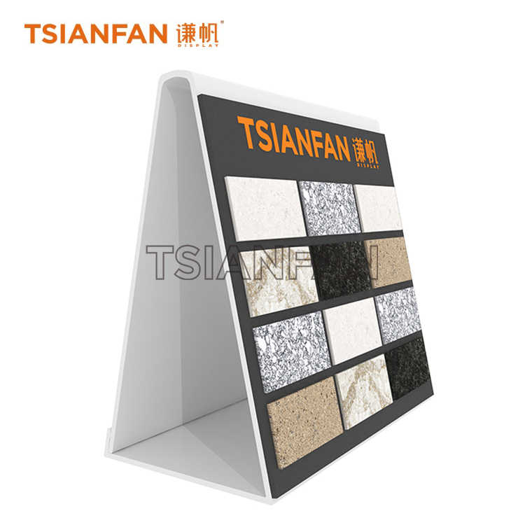 SIMPLE STONE TILE DISPLAY RACKS-CE926