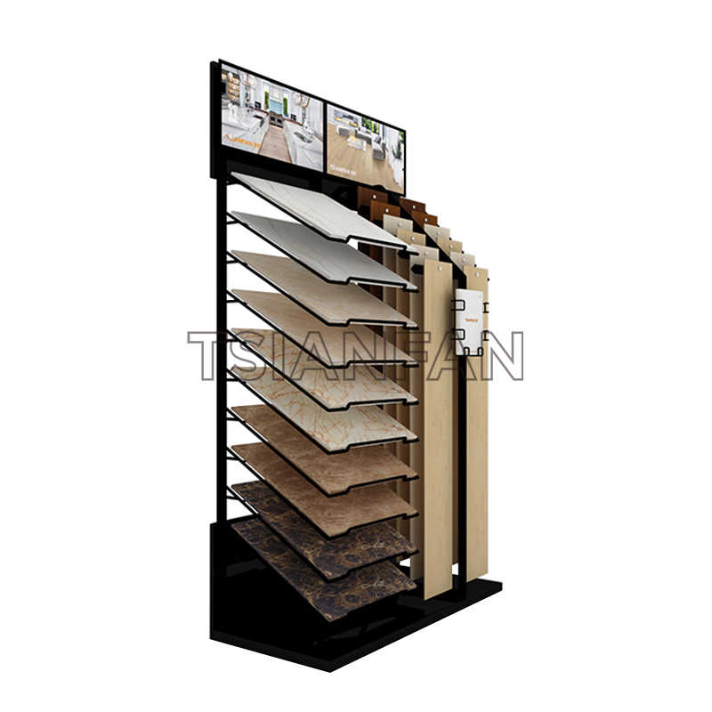 QUARTZ STONE TRADE SHOW SAMPLE DISPLAY STAND SRL812