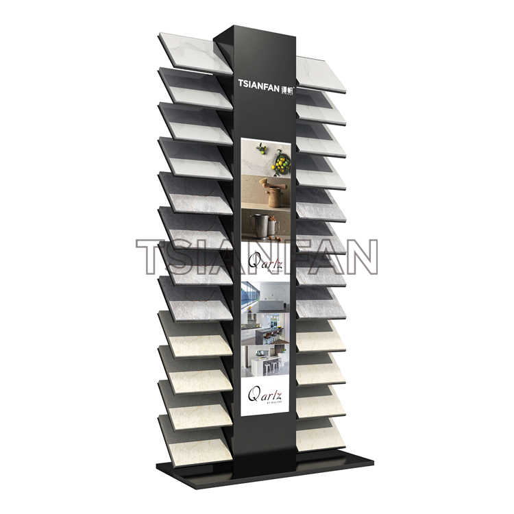 QUARTZ STONE TRADE SHOW SAMPLE DISPLAY STAND SRL920