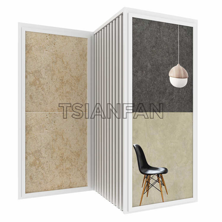CERAMIC TILE SAMPLE STORE DISPLAY CABINETS,HANGING STYLE DISPLAY-CD901