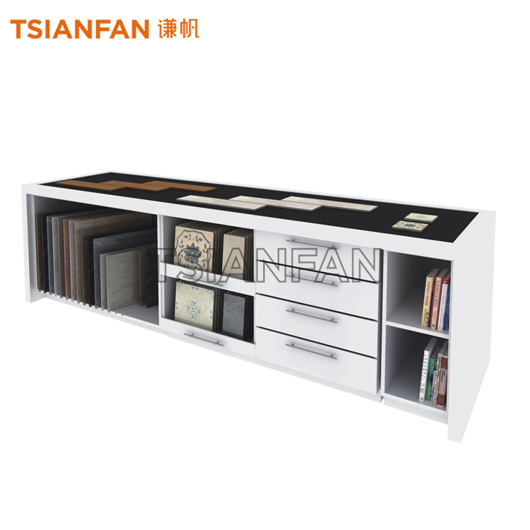 DRAWER STYLE CERAMIC TILE SHOW STAND-CC959