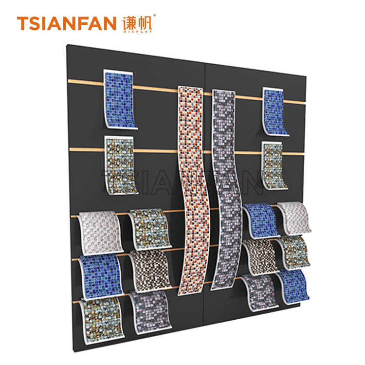 MOSAIC SAMPLES CAN BE ROTATED DISPLAY STAND,CUSTOM EXHIBITION PRODUCTS-ML927