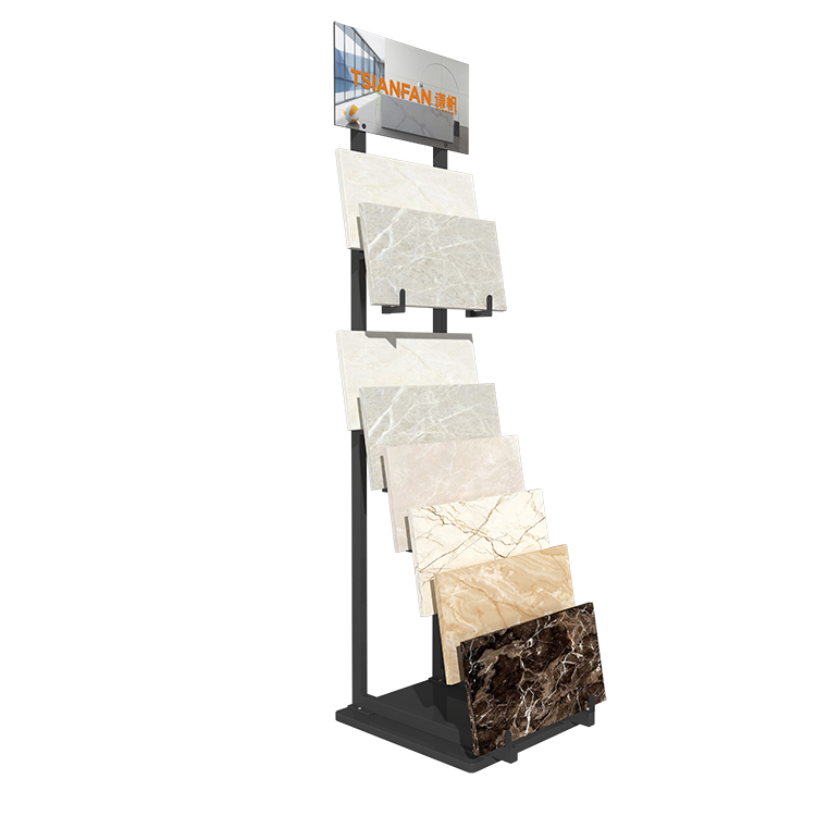 Large Plate Ceramic Floor Display Stand Factory Direct Sales-SRL143
