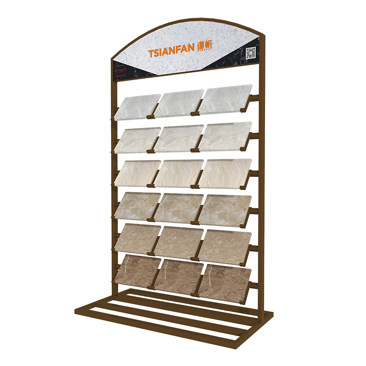 Quartz Stone Sample Showroom Display Stand-SRL002