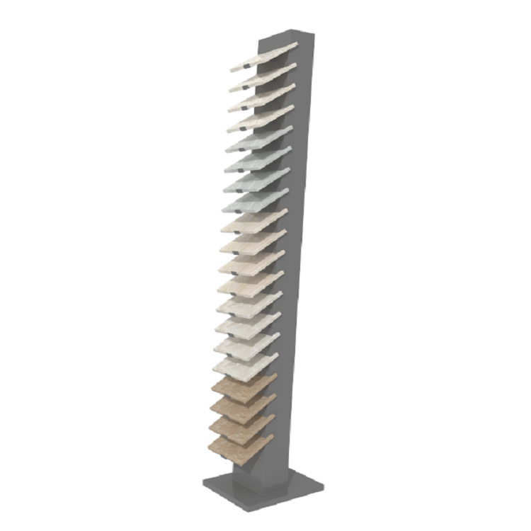 Procelain Tile and Quartz Stone Display Tower Stand-SRL016