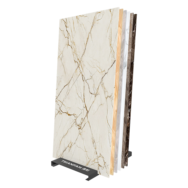 Metal Porcelain Slab Tile Display Stand