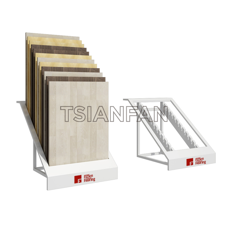 Simple Ceramic Tile Display Stand Manufacturer CE077