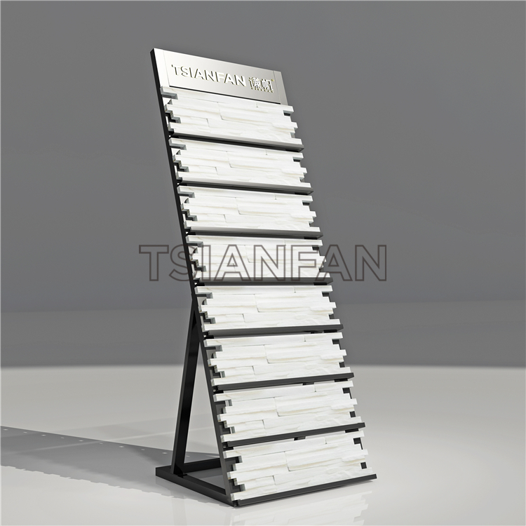Natural Stone Display Stand,Stone Exhibition Board Display Stands CE083