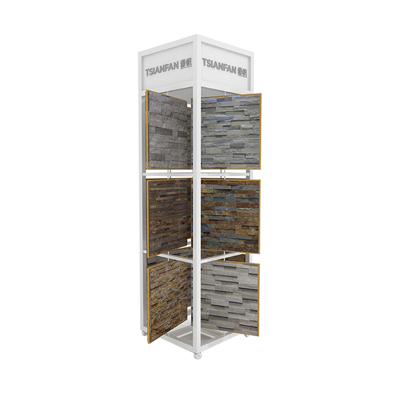 Natural Stone Tiles Display Stand Manufacturer SW002