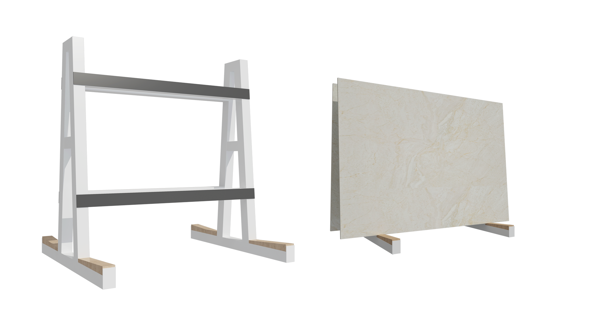 Stone Slab A Frame,Tile Display Racks SD011
