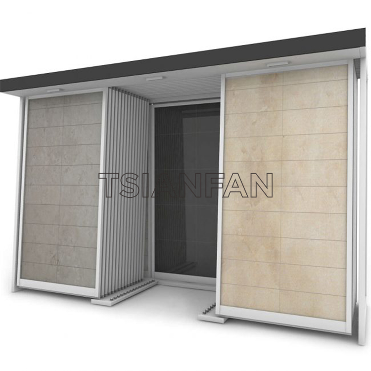 Ceramic Tile Display Rack, Push-pull Ceramic Tile Display Rack-CT608