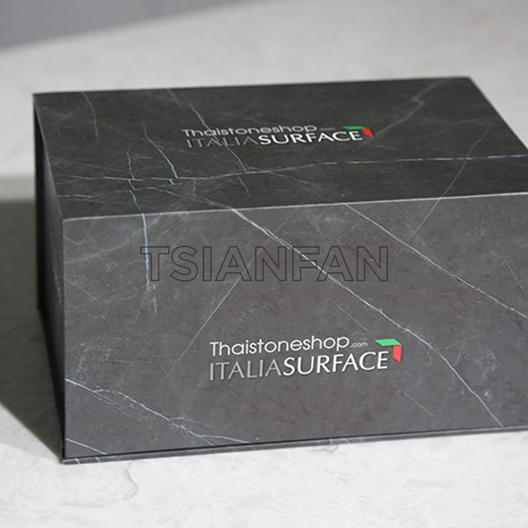 Marble Sample Box With Lid,Marble Sample Box Display-PB2011