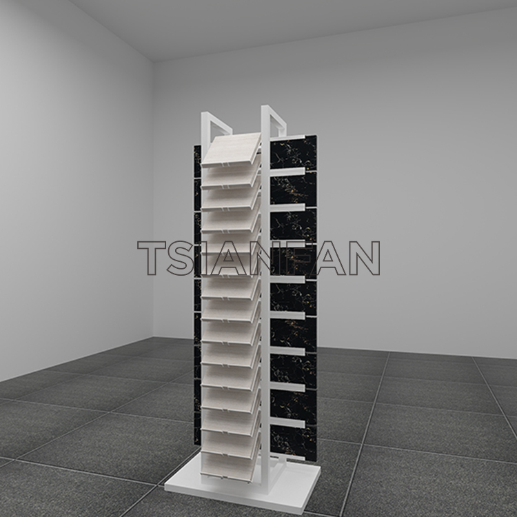 Quartz Stone Flooring Tile Sample Display Stand SD017