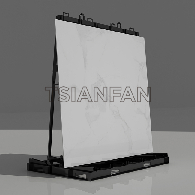 Ceramic Style Tile Board Display Rack Factory Wholesale