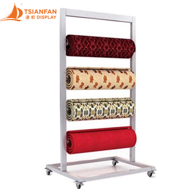Free Sample Metal Display Rack,Carpet Roll Display Racks-CJ2012