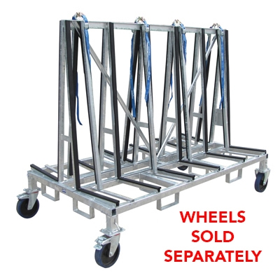 Small A frame Cart Double Sided Transport Cart-SD016
