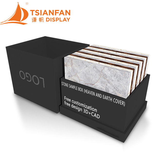 Packaging Box Display Of Marble Quartz Slab Tile Stone Samples-PB2012