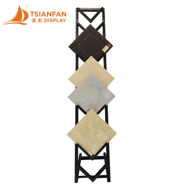 Ceramic Tile Floor Display Stand Custom-CT607