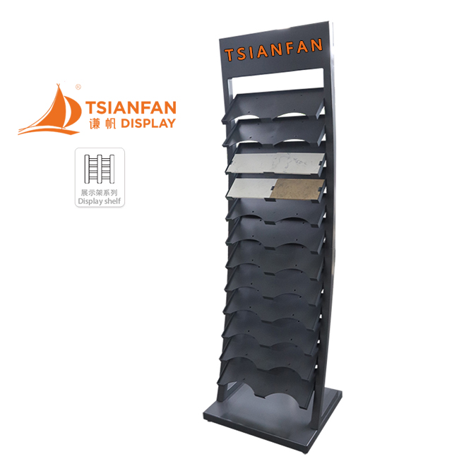 Custom Waterfall Tile Rack Display Rack-SRL153
