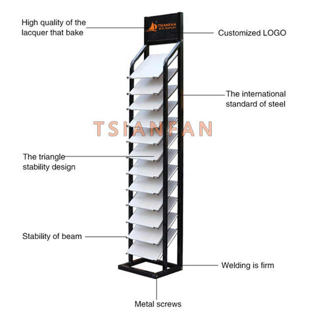 Display Stands For Tiles-E039