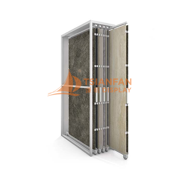 Tile Flat Sliding Display Rack-CT608