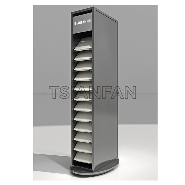 Stone Tile Display Stand,Custom Tile Stone Display Cabinets-SW053