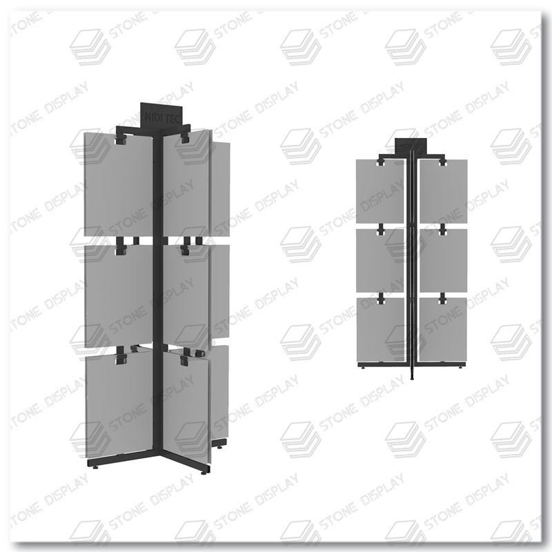 Oem Stone,Quartz Stone,Ceramic Tile Display Stand For Sale CE084