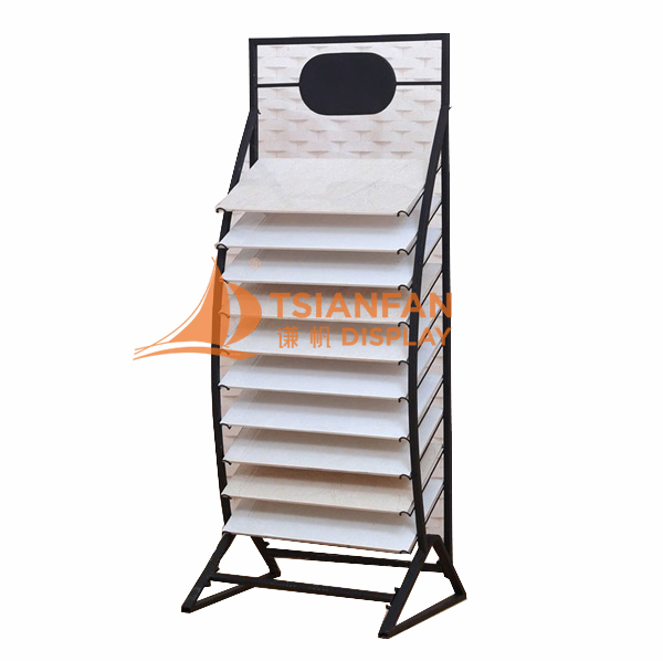 Waterfall Tile Display Rack Display Tile Marble-WE009
