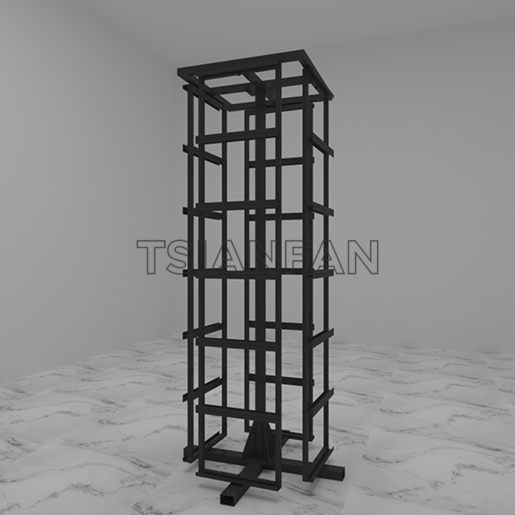Marble Rotate Sample Display Stand Stone Quartz Carousel Display Tower ST-52