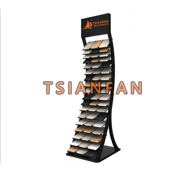 Stone Displays Tower Natural Stone Sample Rack Stand