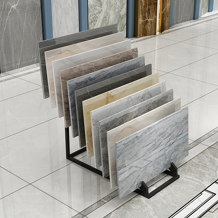 Porcelain Ceramic Display Stand For Floor And Brick Wall Tiles-E052