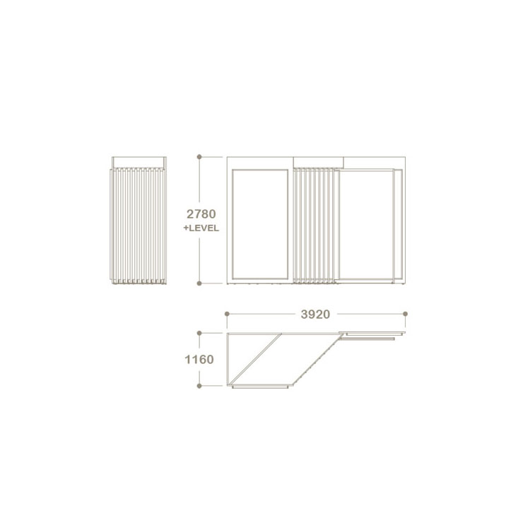 Sliding Display Unit For Displaying Ceramic Floor Tiles And Wall Tiles-ST019