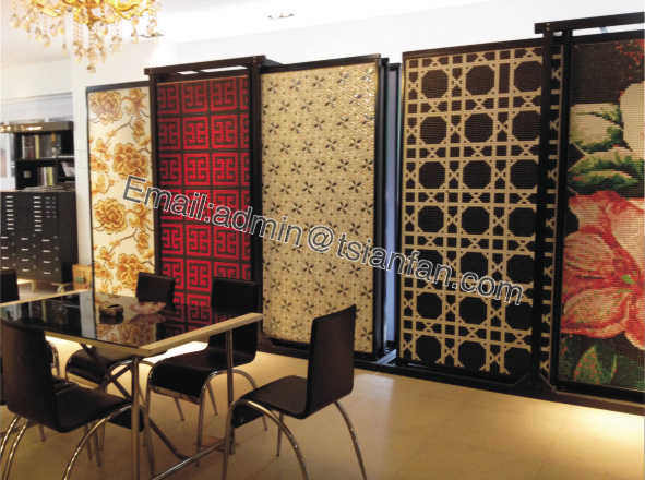 Mosaic Display Cases (4)