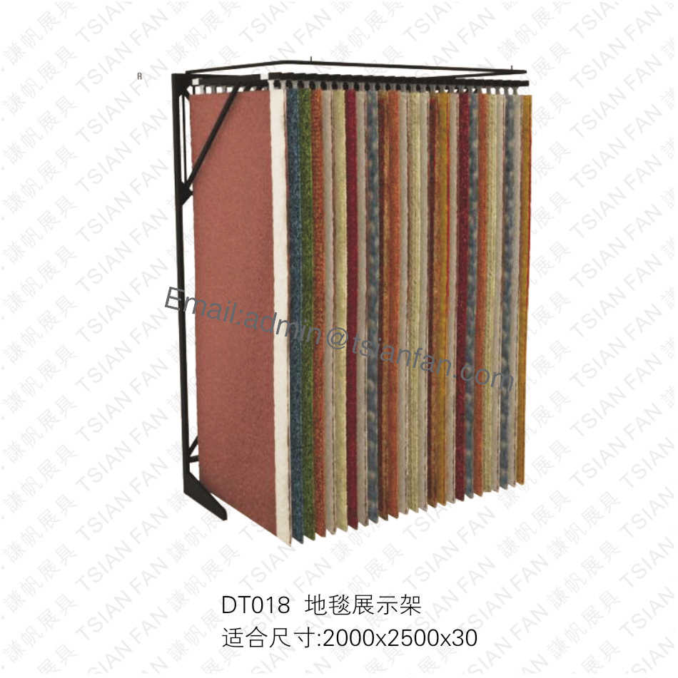 display rack for rug carpet-dt018-stone display rack,ceramic