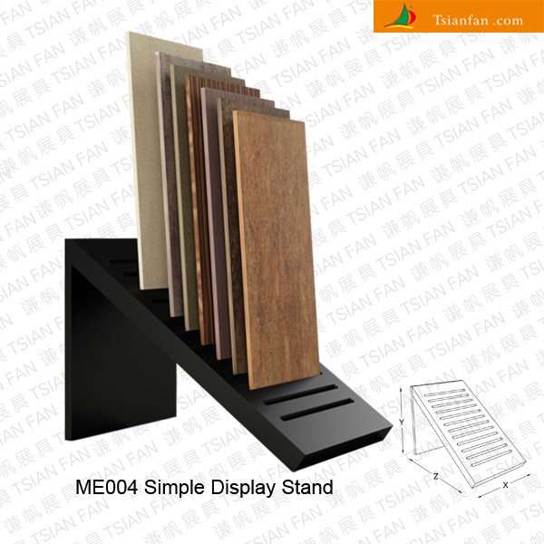 Simple Exhibition Stand Near Me : Wood floor tile display rack me stone