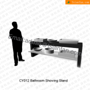 Bathroom Wash Basin Display Rack-CY012
