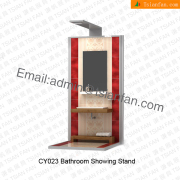 Ceramic Bathroom Tile Metal Display Shelf-CY023