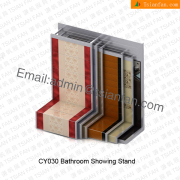 Bathroom Tile Metal Display Stand-CY030