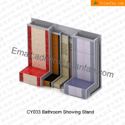 Floor Tile Metal Display Rack-CY033